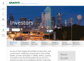 investor.graniteconstruction.com