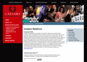 investor.harrahs.com