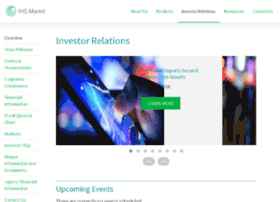 investor.ihsmarkit.com