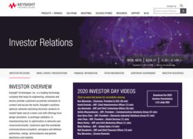 investor.keysight.com