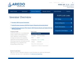 investor.laredopetro.com