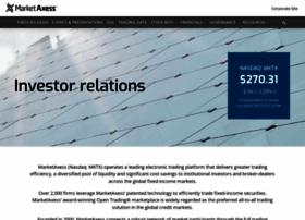 investor.marketaxess.com
