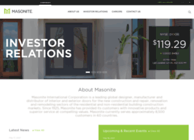 investor.masonite.com