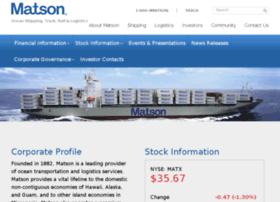investor.matson.com