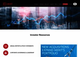 investor.merit.com