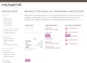 investor.michaelhill.com