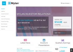 investor.mylan.com