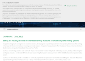 Investor.newpark.com