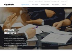 investor.opusbank.com