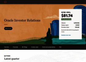 investor.oracle.com