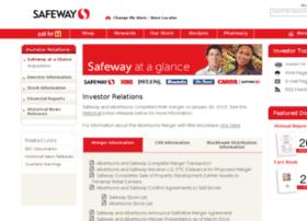 investor.safeway.com