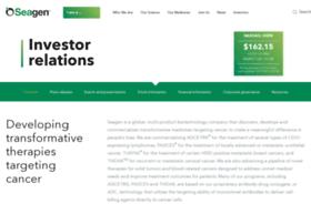 investor.seattlegenetics.com