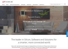 investor.silabs.com