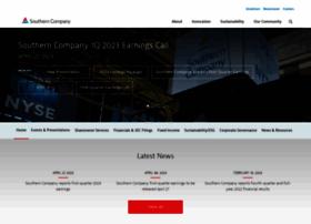 investor.southerncompany.com