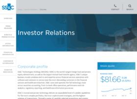 investor.ssctech.com