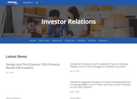 investor.stamps.com