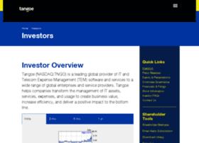 investor.tangoe.com