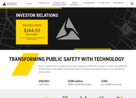 investor.taser.com
