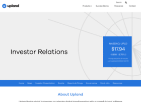 investor.uplandsoftware.com