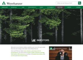 investor.weyerhaeuser.com
