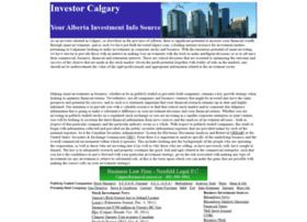 investorcalgary.com