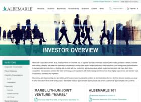 investors.albemarle.com