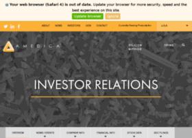 investors.amedica.com