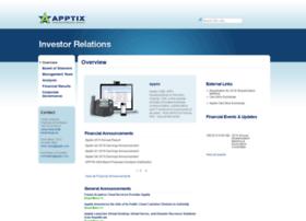 investors.apptix.com