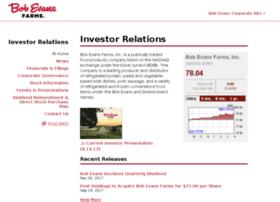 investors.bobevans.com