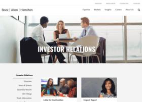 investors.boozallen.com