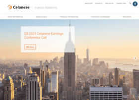 investors.celanese.com