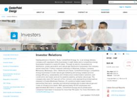 investors.centerpointenergy.com