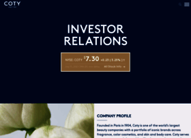 investors.coty.com