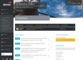 investors.devonenergy.com