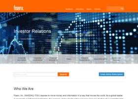 investors.fiserv.com