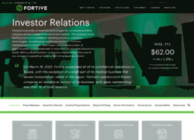 investors.fortive.com