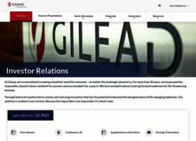 investors.gilead.com