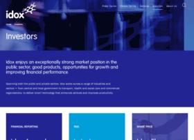 investors.idoxgroup.com