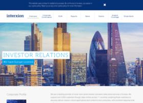 investors.interxion.com