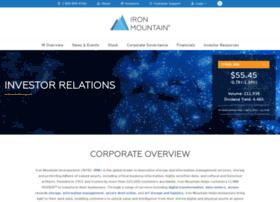 investors.ironmountain.com
