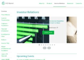investors.markit.com