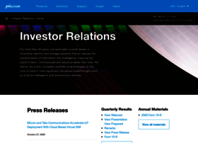 investors.micron.com