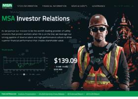 investors.msasafety.com