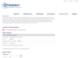 investors.otonomy.com