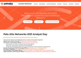 investors.paloaltonetworks.com
