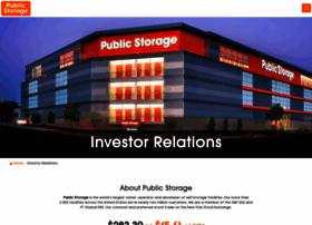 investors.publicstorage.com