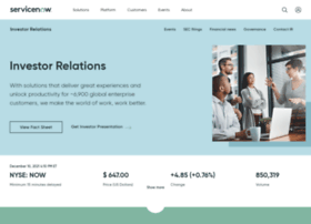 investors.servicenow.com