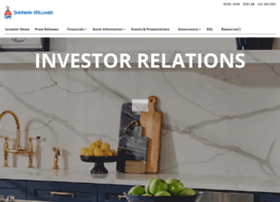 investors.sherwin-williams.com