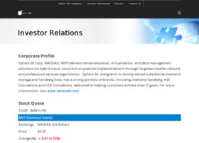 investors.sphere3d.com