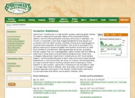 investors.sportsmanswarehouse.com